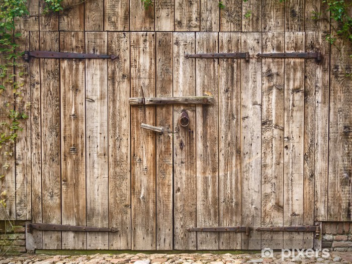 old weathered barn door wall mural pixers we live to change