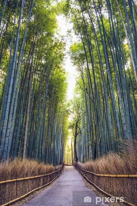 Papier peint vinyle Bamboo Forest de Kyoto, au Japon - Thèmes