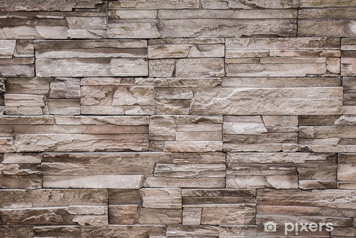 Modern Stone Brick Texture Wall Background Wall Mural