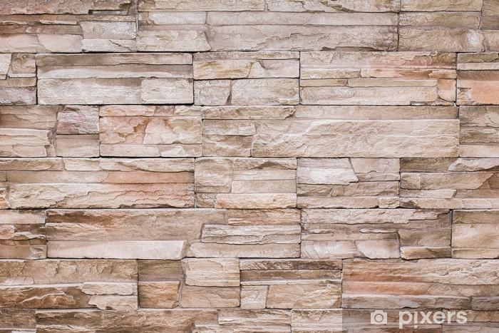 Papier peint Moderne brique mur pierre texture de fond • Pixers® - Nous vivons pour changer