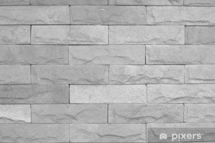 Modern stone brick texture wall background Wall Mural • Pixers® • We live to change
