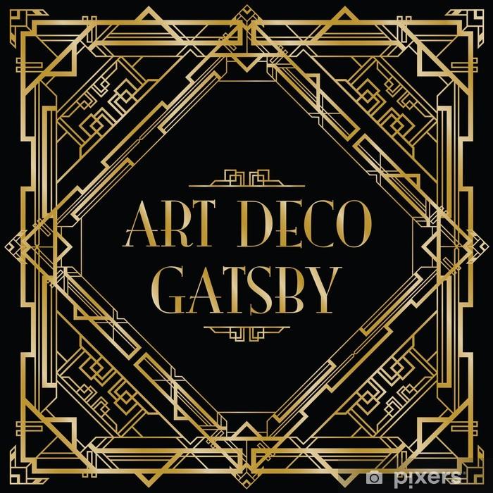 Papier Peint Gatsby Art Deco Fond Pixers Nous Vivons Pour Changer