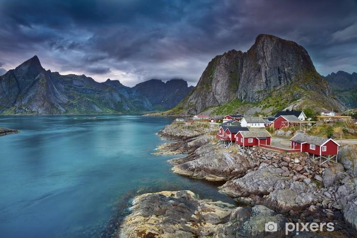 Vinil Duvar Resmi Norveç -