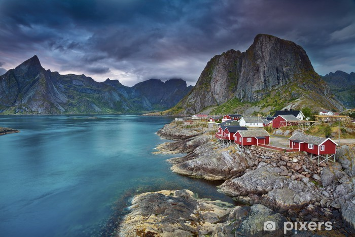 Mural de Parede em Vinil Norway. - Temas