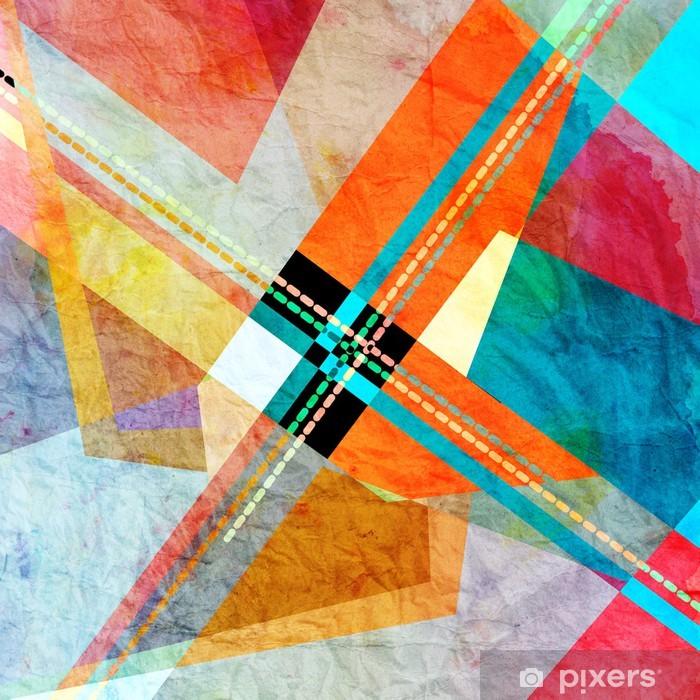 Poster Abstrakter hintergrund - Hintergründe