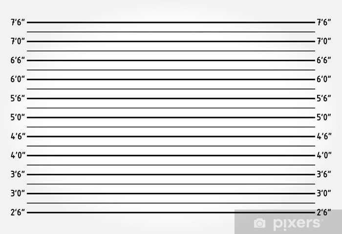 police lineup or mugshot background wall mural � pixers