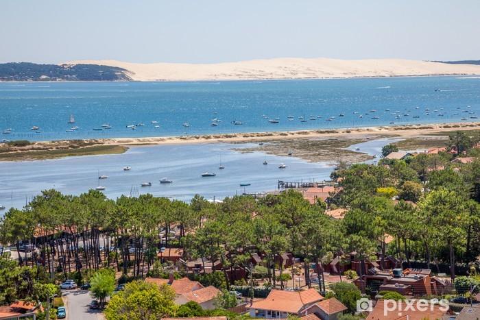 Vinylová fototapeta La Dune du Pilat depuis Le Phare de Cap Ferret - Vinylová fototapeta