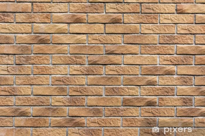 Sticker Pixerstick Mur de briques Texture - Thèmes
