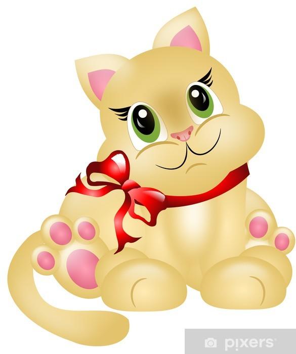 Fototapeta winylowa Uroczy mały kociak - Ssaki