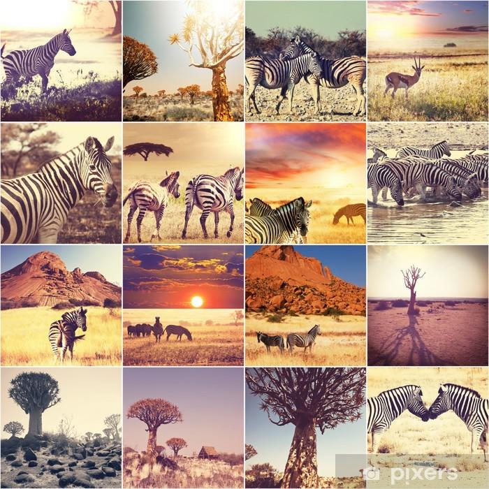 Vinylová fototapeta Africké safari - Vinylová fototapeta