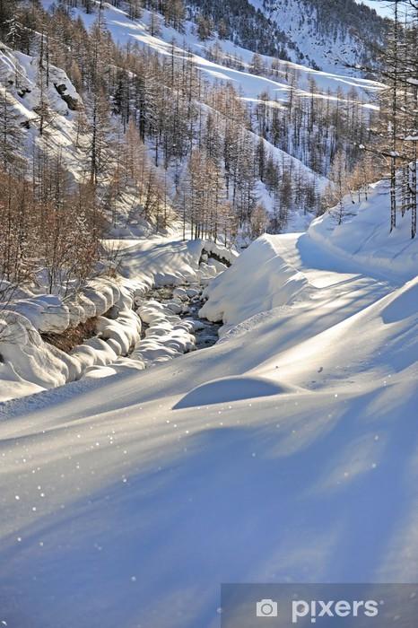Nálepka Pixerstick Montagna - Hory