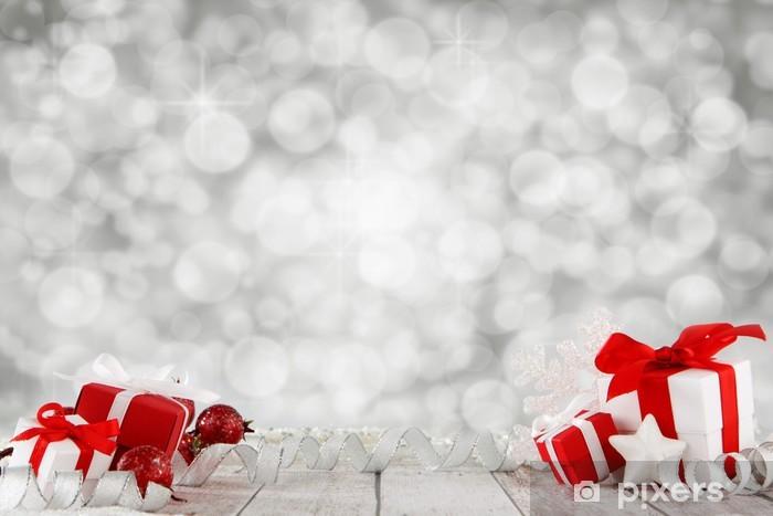 Papier peint vinyle Contexte de Noël - Fêtes internationales