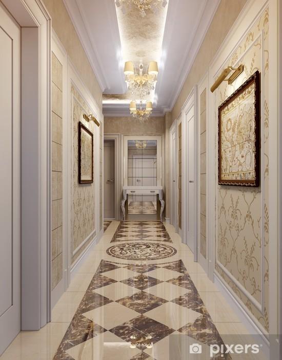 Papier Peint Couloir Dans Le Style De Luxe Pixers Nous Vivons