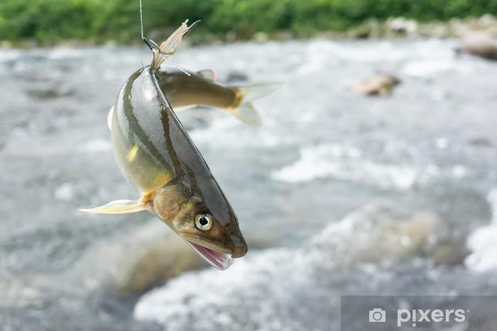 Nálepka Pixerstick 鮎 の 友 釣 り - Outdoorové sporty