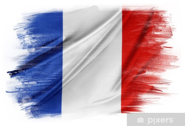 French flag Pixerstick Sticker - Signs and Symbols