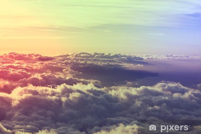 Fototapeta samoprzylepna Powyższe chmury - Chmury