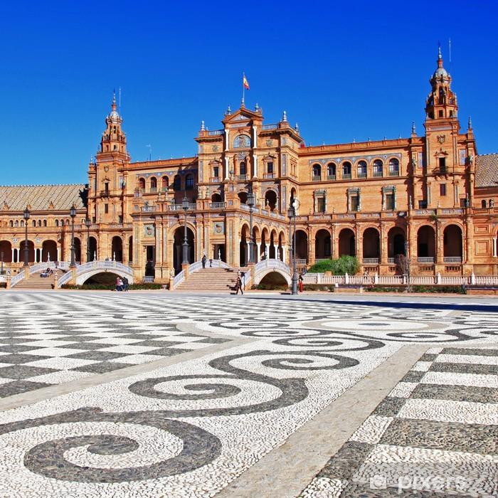 Fototapeta winylowa Sewilla, piękne Plaza Espana - Europa
