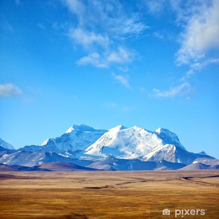 Fototapeta winylowa Himalaje krajobraz górski w Tybecie - Tematy