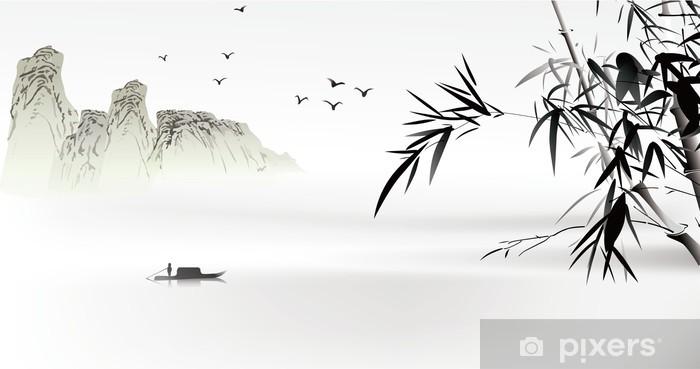Fototapeta winylowa Chińskich malowanie - Natura