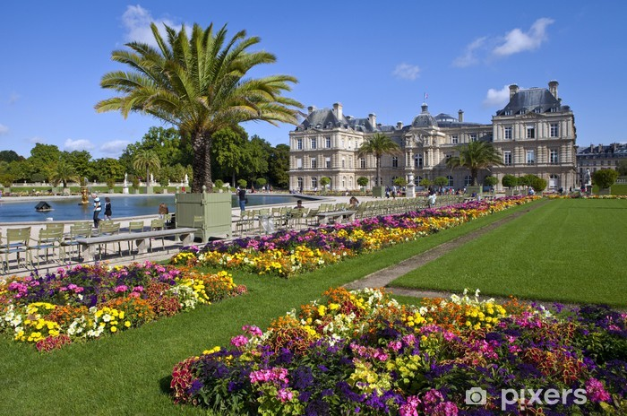 Luxembourg Palace In Jardin Du Luxembourg In Paris Wall Mural Pixers We Live To Change