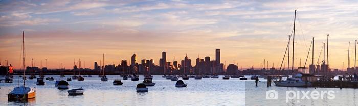 Papier peint vinyle Melbourne Panorama - Océanie