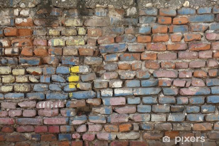 Brick wall Pixerstick Sticker - Themes