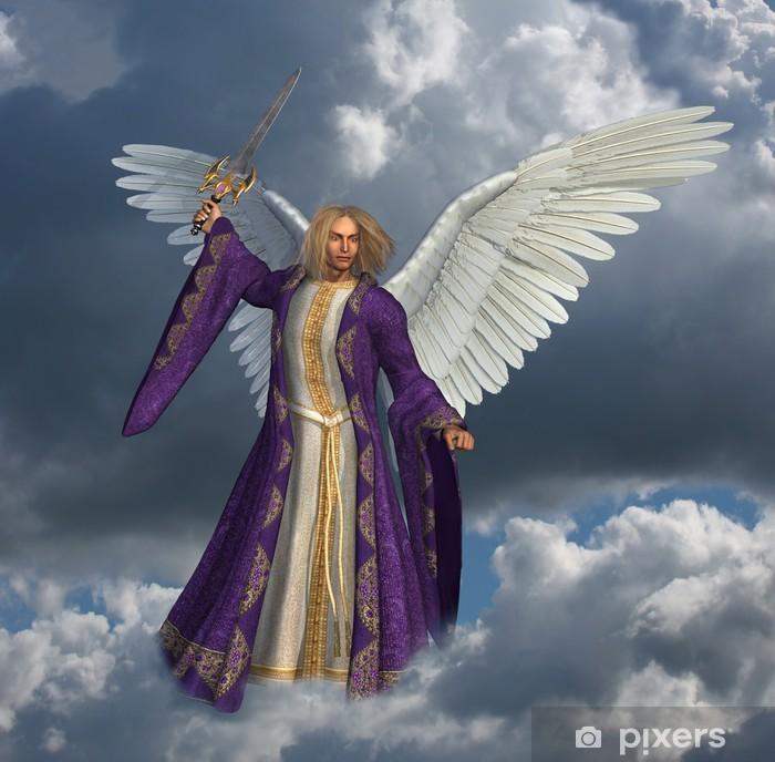 Pixerstick-klistremerke Archangel Micheal - versjon uten strålende himmel effekt - Themes