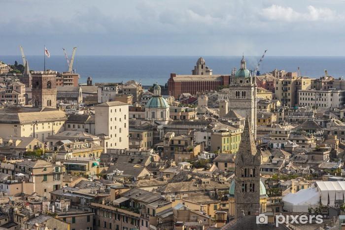 Carta Da Parati Genova.Carta Da Parati Genova Dall Alto Pixers Viviamo Per Il Cambiamento