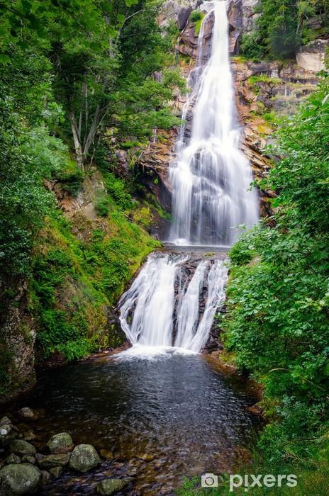 Fototapet Vattenfall I Frankrike Pixers Vi Lever For Forandring