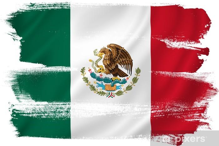 fotobehang mexico vlag • pixers® - we leven om te veranderen