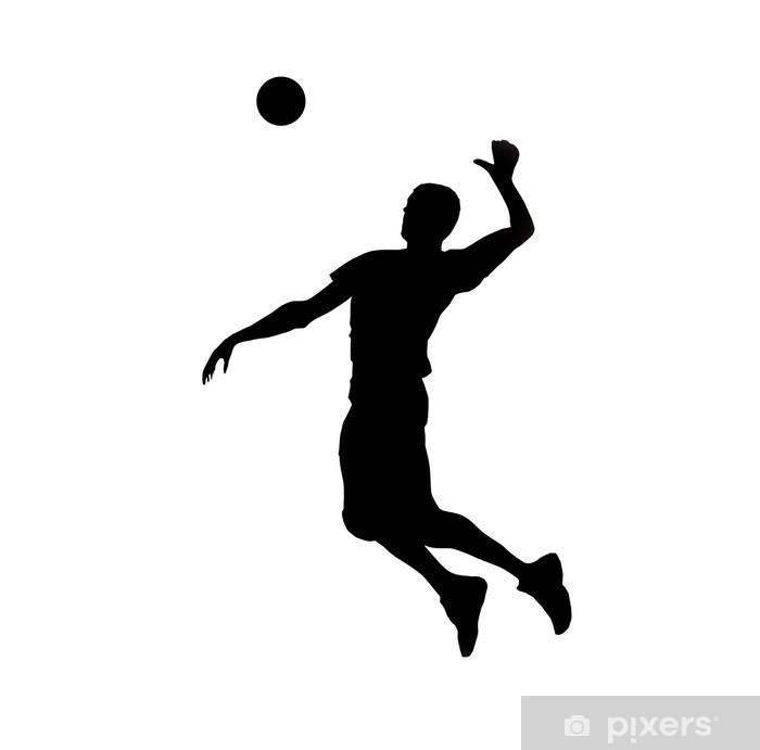 Fototapeta winylowa Sport siatkówka - Naklejki na ścianę