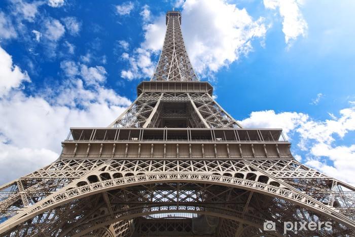 Papier peint vinyle Parisiens - Villes européennes