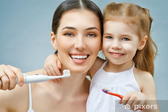 Carta da parati lavarsi i denti u pixers viviamo per il cambiamento