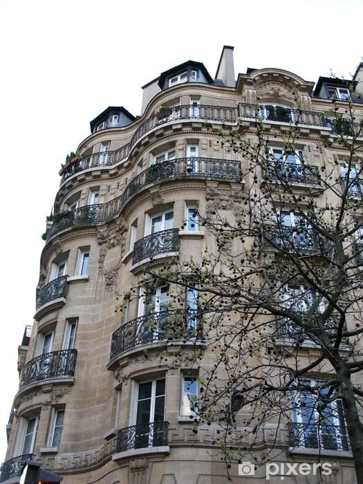 Papier peint vinyle Immeuble haussmannien - Villes européennes