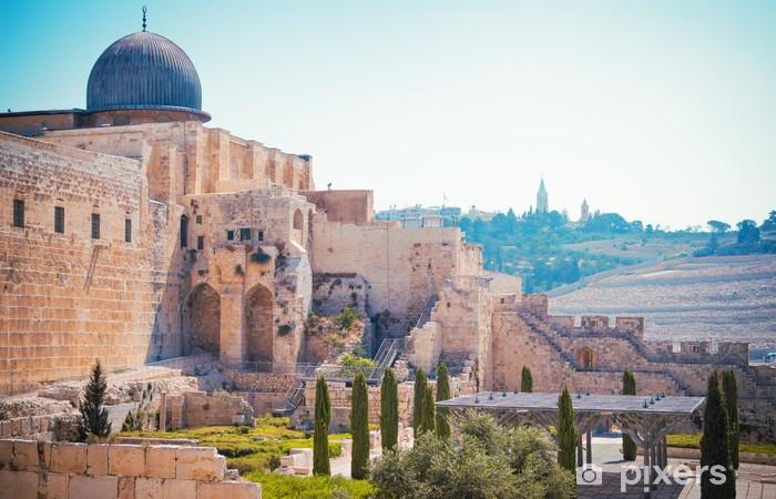 Al-Aqsa Mosque of Omar Pixerstick Sticker - Life