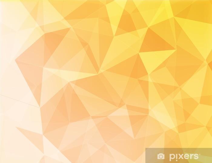 Papier peint Fond abstrait de couleur jaune et orange