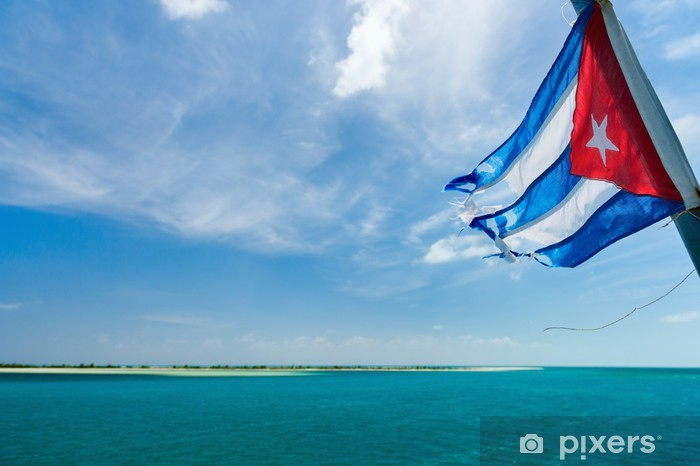 Vinyl Fotobehang Cubaanse vlag - Thema's