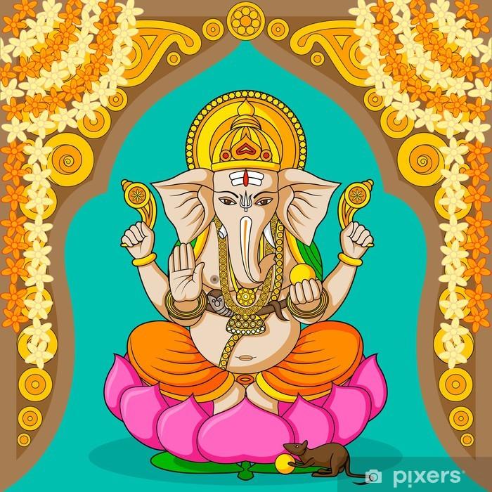 Plakat Lord Ganesha - Budynki użyteczności publicznej