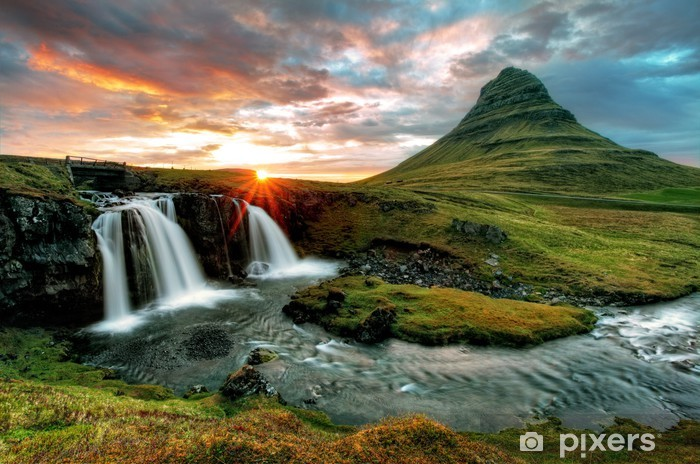 Vinyl Fotobehang Iceland - Thema's