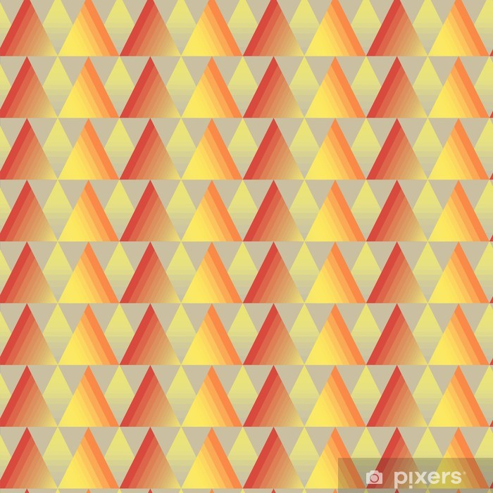 Seamless triangle background Poster - Art and Creation