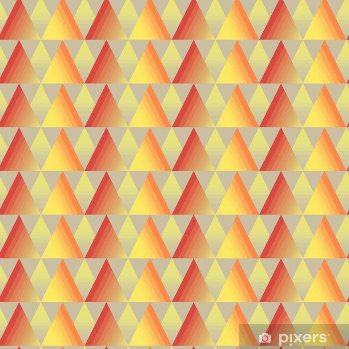 Poster Transparente triangle fond - Art et création