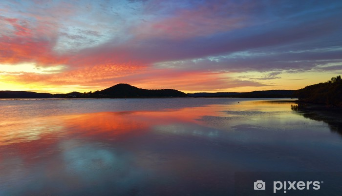 Papier peint vinyle Koolewong lever du soleil, l'Australie - Thèmes
