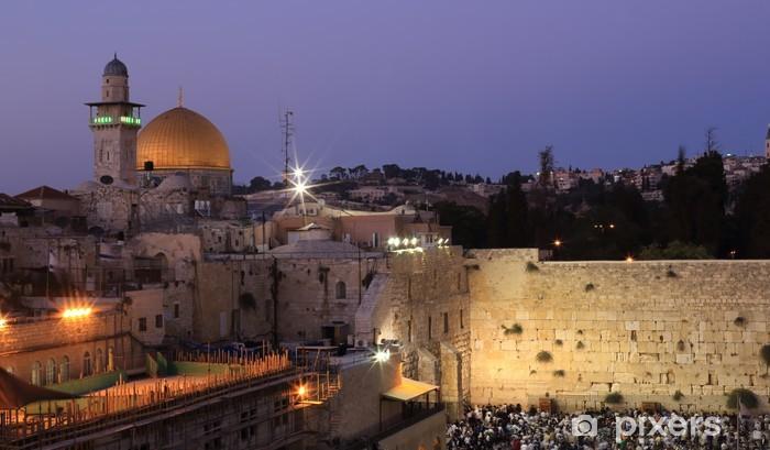 Naklejka Pixerstick Jerozolima - Bliski Wschód