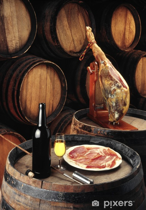 Fototapeta winylowa Sherry winiarnia - Tematy