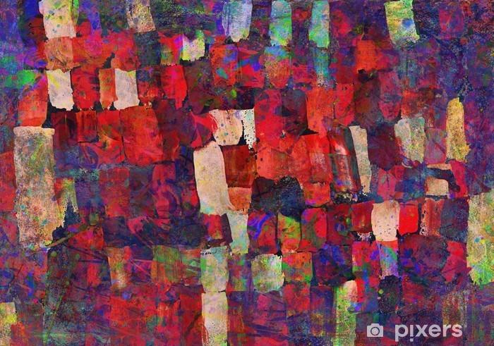 Papier peint vinyle Peinture d'art abstrait - Passe-temps et loisirs