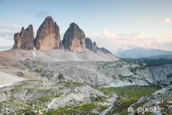 Nálepka Pixerstick Tři vrcholy Lavaredo (Dolomity) - Evropa