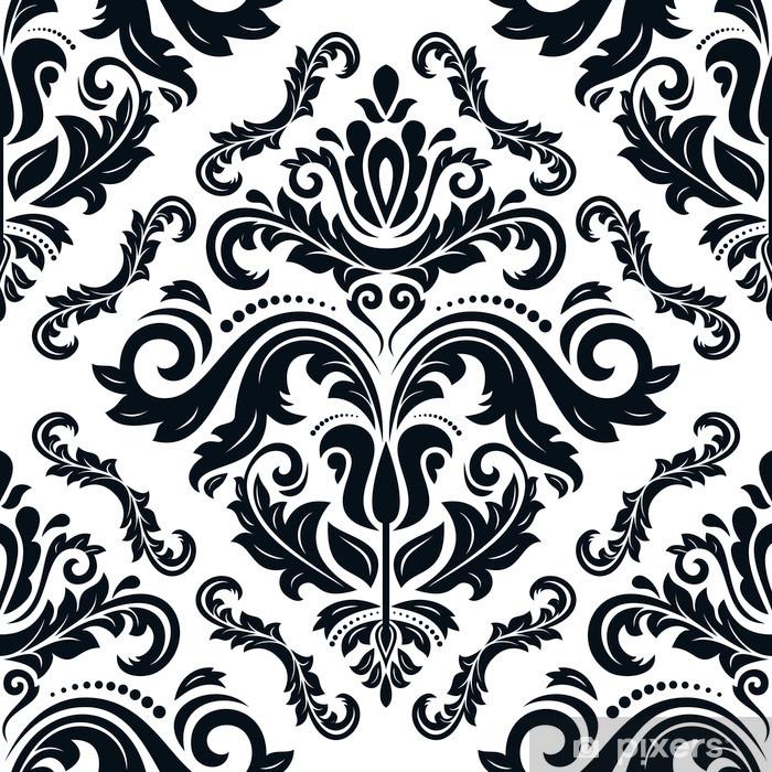Naklejka Pixerstick Orient wektorowych powtarzalny deseń. abstrakcyjne tło - Tła