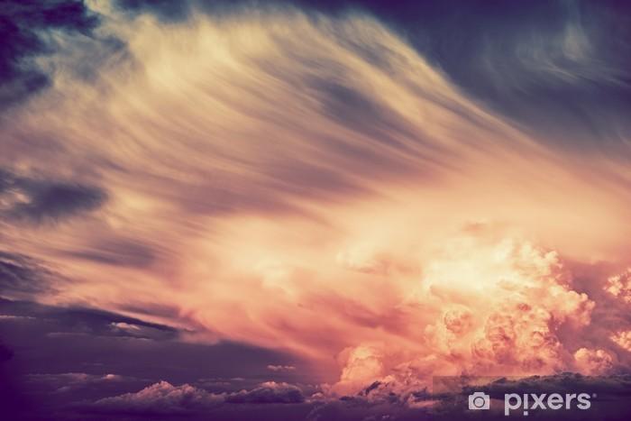 Scenic Sunset Storm Vinyl fototapet -