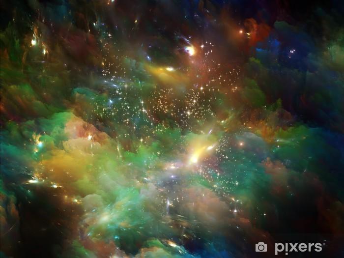 Sticker Pixerstick Lueur de l'Univers - Thèmes
