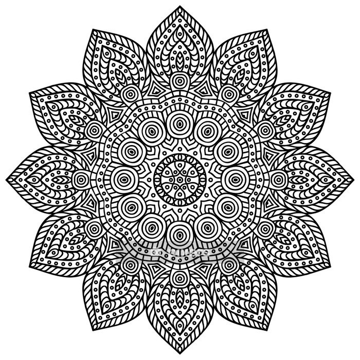 Mandala Wall Decal - Wall decals